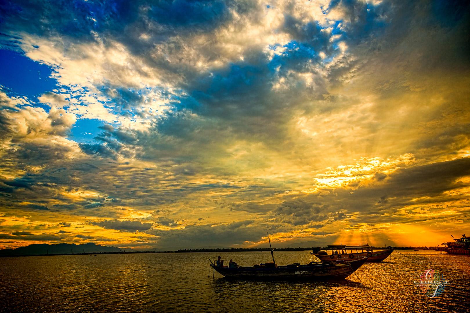 La rivière des Parfums Hué - Vietnam