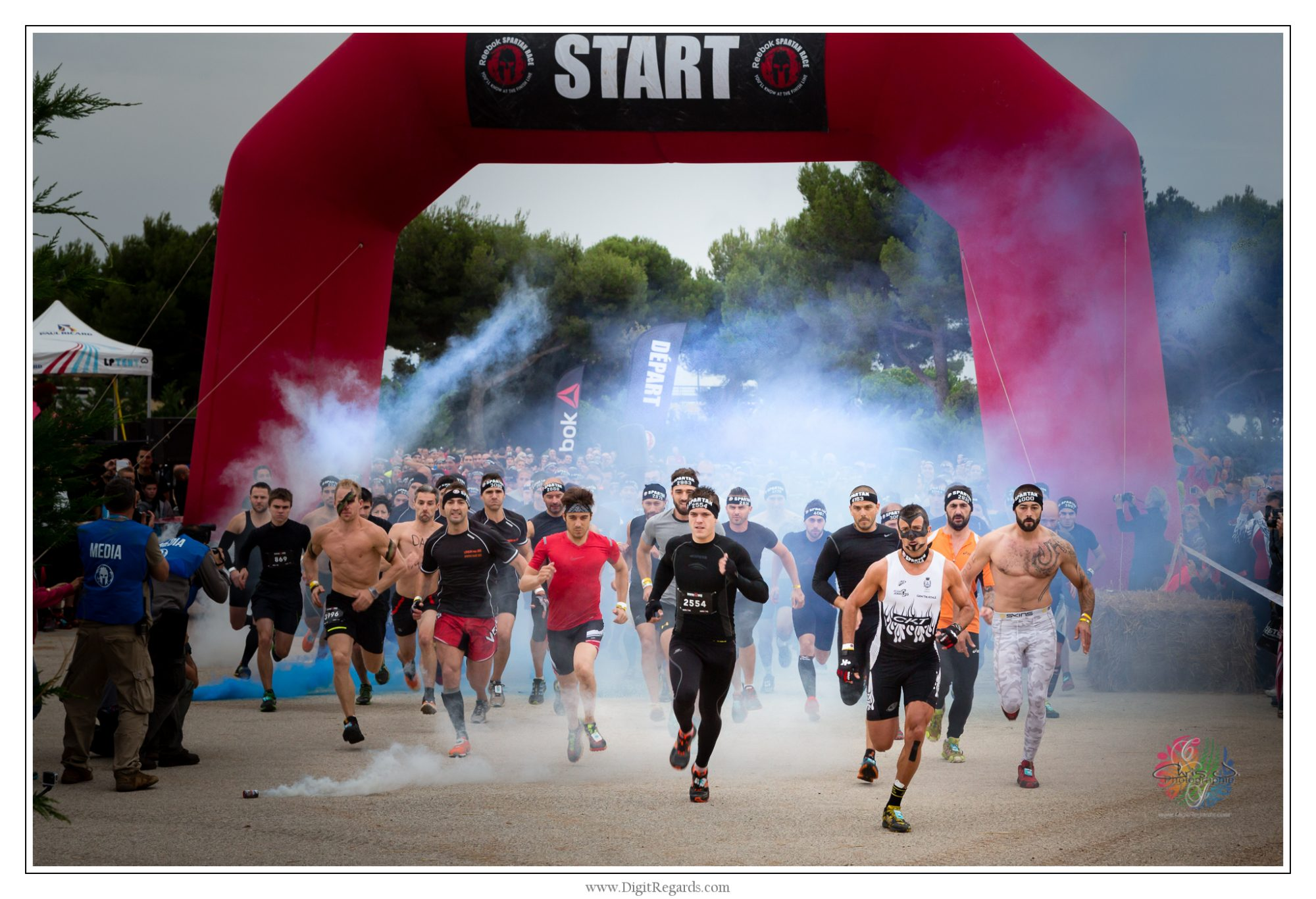 Reebok Spartan Race France au circuit du Castellet.© 2014 DigitRegards.com