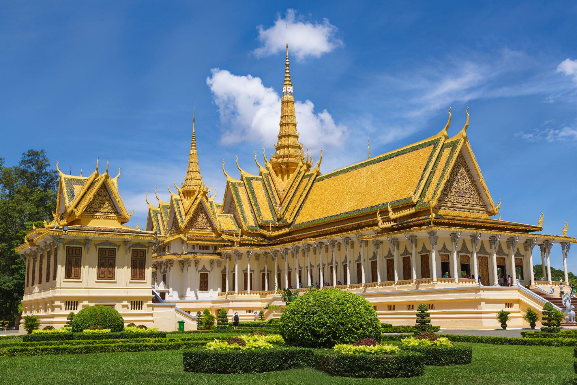 Palais royal Phnom Penh Cambodge 2012