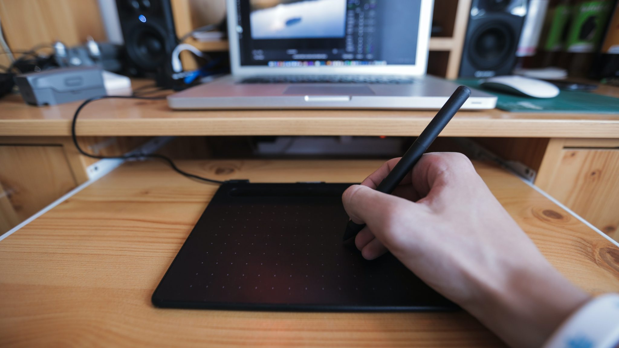 wacom tablet photographe
